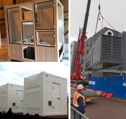 Bespoke shipping containers manufactured to your specficiations
